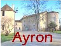 logo de la commune d'Ayron dans la Vienne