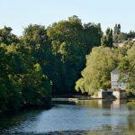 photo de la rivière le Clain