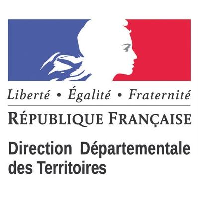 Logo de la Direction départementale des territoire