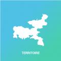 icone d'une carte du territoire du syndicat