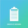 icone d'une liste représentative des Droits et devoirs des riverains